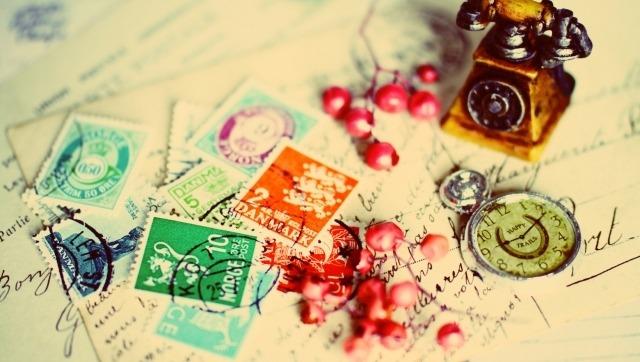 外国の記念切手イメージ画像